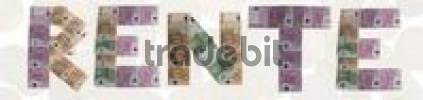 Thumbnail Rente/retirement pension, written with bank notes