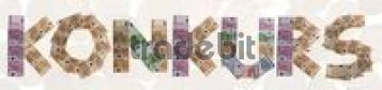 Thumbnail Konkurs/bankruptcy, written with bank notes