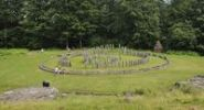 Thumbnail Reconstruction of the circular sanctuary of the Dacian fortress of Sarmizegetusa Regia, Romania, Europe