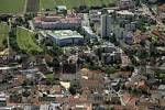 Thumbnail aerial shot of the church of Eisenstadt Burgenland Austria