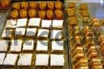 Thumbnail Petit four sweets cakes in a Pasticceria bakery