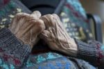 Thumbnail Hands of an old person showing veins, nursing home, retirement home