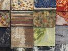 Thumbnail Colorful rugs on display