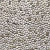 Thumbnail Ivory pebbles, interior and exterior stone finish, texture, background