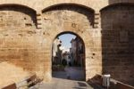 Thumbnail Western city gate, Porta de Sant Sebastia, Alcudia, Majorca, Balearic Islands, Spain, Europe