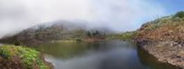 Thumbnail Embalse de Agulo reservoir, Agulo, La Gomera, Canary Islands, Spain, Europe