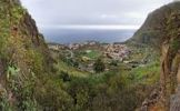 Thumbnail The small pristine coastal village of Agulo, La Gomera, Canary Islands, Spain, Europe