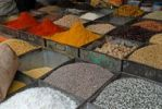 Thumbnail Spices and lentils, Jodhpur, Rajasthan, India, Asia