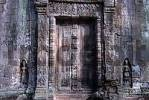 Thumbnail Fine decorated disguise door at temple Ta Prohm Siem Reap Cambodia