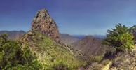 Thumbnail Roque El Cano volcanic vent in Vallehermoso, La Gomera, Canary Islands, Spain, Europe