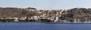 Thumbnail Panorama of San Sebastian de La Gomera, capital of the Canary Island of La Gomera, Spain, Europe