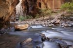 Thumbnail The Narrows, narrow point of the Virgin River, Zion National Park, Utah, USA, America