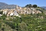 Thumbnail View of the village Polop de la Marina, Costa Blanca, Spain, Europe