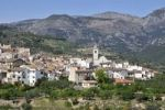 Thumbnail View of the village Benimantell, Costa Blanca, Spain, Europe