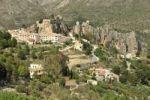 Thumbnail Village view with the Castillo de San José, Guadalest, Costa Blanca, Spain, Europe