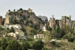 Thumbnail Village view with the Castillo de San José, Guadalest, Costa Blanca, Spain, Europe