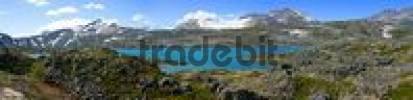 Thumbnail Crater lake Chilkoot Trail British Columbia Canada