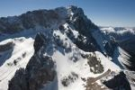 Thumbnail Aerial view, Mt. Zugspitze, Bavaria, Germany, Europe