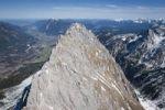 Thumbnail Aerial view, Mt. Waxenstein, Garmisch-Partenkirchen, Bavaria, Germany, Europe