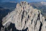 Thumbnail Aerial view, Mt. Langkofel, Val Gardena valley, Dolomites, Italy, Europe