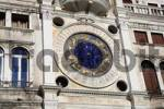 Thumbnail Clock with zodiac sign on the St. Marks Square, Venice, Italy
