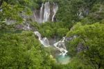 Thumbnail Waterfall, Plitvice Lakes National Park, Croatia, Europe