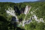 Thumbnail Large Waterfall, Veliki Slap Waterfall, Plitvice Lakes National Park, Croatia, Europe