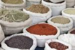 Thumbnail Spices at a market stall, Avanos, Cappadocia, Turkey, Asia