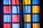 Thumbnail Farbige Fenster und Vorhang, Heritage Hotel, Palast von Deogarh, Rajasthan, Indien, Asien