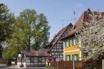 Thumbnail Half-timbered houses, Neunkirchen am Brand, Franconian Switzerland, Upper Franconia, Franconia, Bavaria, Germany, Europe