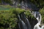 Thumbnail Large Waterfall or Veliki Slap, Plitvice Lakes National Park, UNESCO World Heritage Site, Croatia, Europe