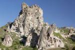 Thumbnail Tufa formations, Uchisar, Cappadocia, Turkey