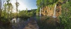 Thumbnail Lake with boardwalk, Plitvice Lakes National Park, UNESCO World Heritage Site, Croatia, Europe