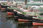 Thumbnail Boats in the harbor, Hamburg, Germany, Europe