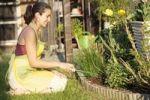 Thumbnail Woman gardening