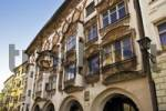 Thumbnail Facade of a historic building, Wasserburg, Bavaria, Germany
