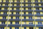 Thumbnail Hall of residence or dormitory with solar front, Freiburg im Breisgau, Baden-Wuerttemberg, Germany, Europe
