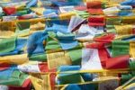 Thumbnail Lots of colorful prayer flags flying, Yumbulagang near Tsetang, Himalaya Range, Central Tibet, Ue-Tsang, Tibet Autonomous Region, People's Republic of China, Asia
