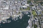 Thumbnail Aerial view of Victoria Harbour, Victoria, Vancouver Island, British Columbia, Canada