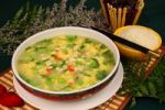 Thumbnail Tofu soup and rice, Chinese food, China, Asia