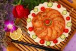 Thumbnail Spicy sliced lotus roots, cold dish, Chinese food, China, Asia