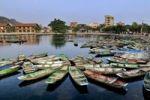 Thumbnail Rowing boats, Tam Coc region, Ninh Binh, dry Halong Bay, Vietnam, Southeast Asia, Asia