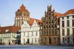 Thumbnail Marketplace with Marienkirche church, Greifswald, Mecklenburg Western Pomerania, Germany, Europe