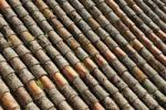 Thumbnail Roman roof tiles, Cathedral of Salamanca, Castile and Leon, Castilla y Leon, Spain, Europe