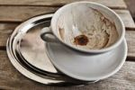 Thumbnail Empty coffee cup