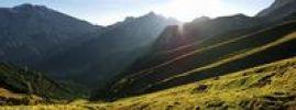 Thumbnail Summit of Mt. Predigtstuhl in the Wettersteingebirge range in Leutasch, Tyrol, Austria, Europe