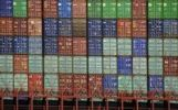 Thumbnail Stacked containers in the port of Hamburg, Hamburg, Germany, Europe