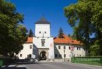 Thumbnail Bystřice Castle, baroque-classicist chateau, Bystrice pod Hostynem, Kromeriz district, Zlin region, Czech Republic, Europe