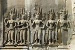 Thumbnail Relief in Angkor Wat temple complex, Cambodia, Southeast Asia, Asia