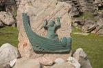 Thumbnail Memorial stone to Erik's landing in 982, Erik the Red, Qassiarsuk, Greenland